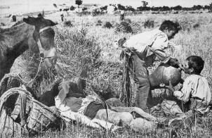 A6 Werken op het land Ronda 1950
